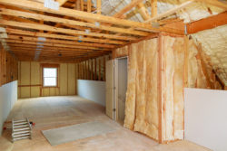 Insulation in a house